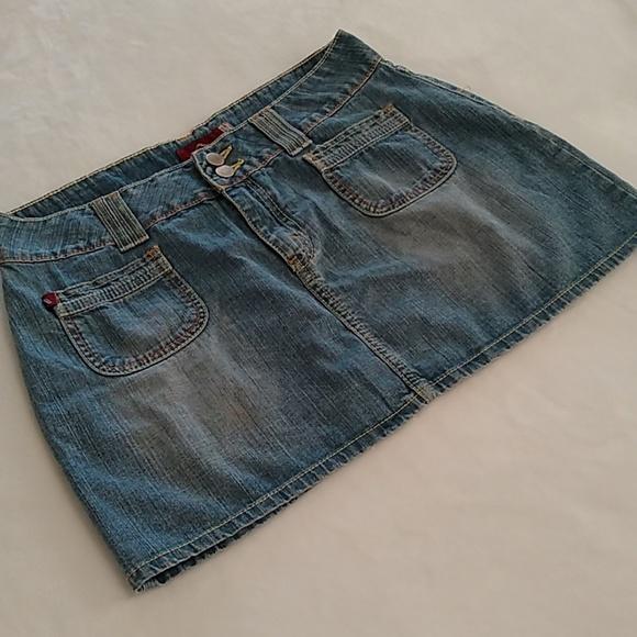 Jordache Dresses & Skirts - Jordache Jean Mini Skirt